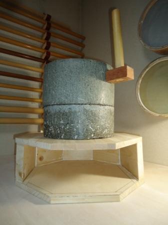 石臼台座製作