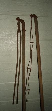 鉄製から竿