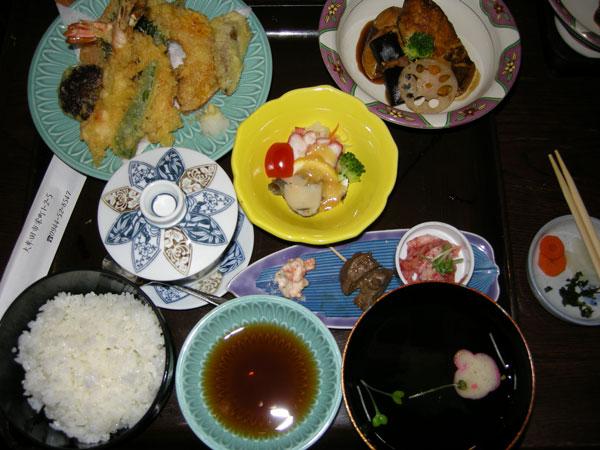 テンプラ定食