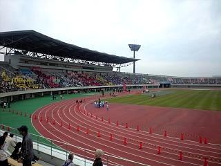熊谷陸上競技場(トラック)