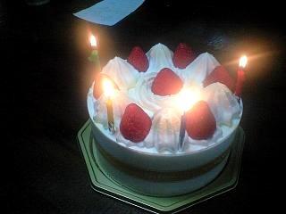 誕生日(ケーキ)