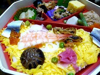祭り寿司(アップ)