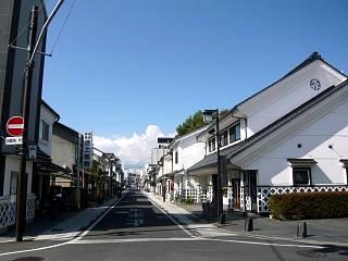 松本市(蔵の街並み)