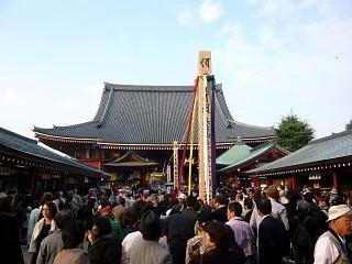 浅草寺(人出1)