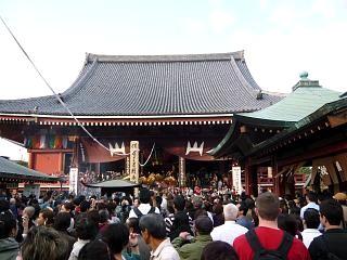 浅草寺(人出2)