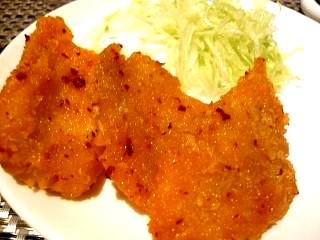 中国料理(白身魚フライ)