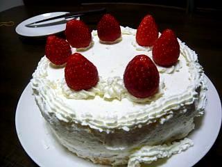 クリスマスケーキ(全体)