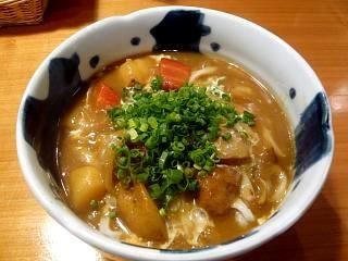 かがり火(野菜ごろごろカレーうどん)