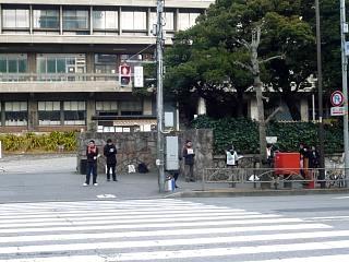 慶応大学正門(その2)
