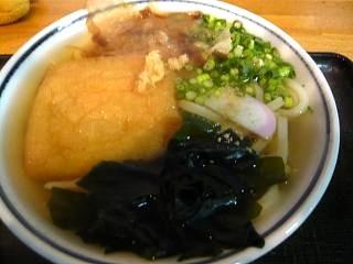 麻布そば(かけうどん)