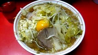 ラーメン二郎三田本店(小豚)