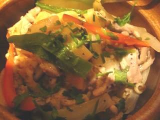 タイ料理の店(土鍋ご飯アップ)