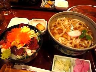 ●●衛(海鮮丼セット)