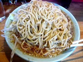 ラーメン髭(チャーシュー麺天地返し)