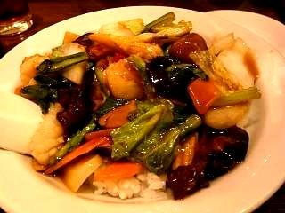 江南春(うま煮かけご飯)