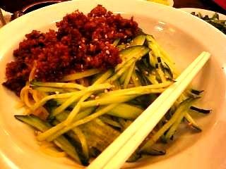 朝中華(ジャジャ麺)