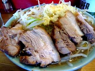 ラーメン髭(チャーシュー麺その2)