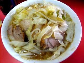 ラーメン二郎三田本店(小豚上から)