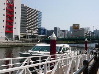芝浦運河(乗船その1)