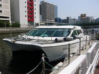 芝浦運河(乗船その2)