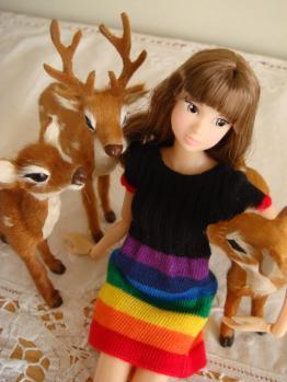ccs-momoko dorothy with deer