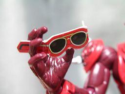 モモタロスのサングラス