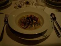 クエと地蛤と松茸のココット焼