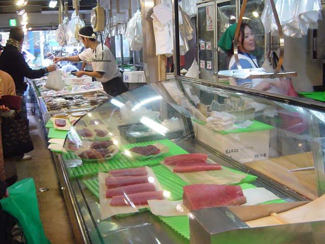 Tuna sales