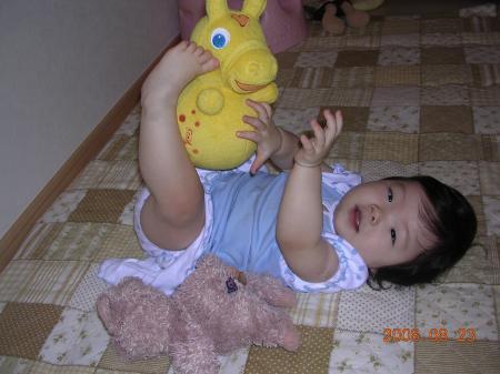 かわいいお人形 ありがとう!!
