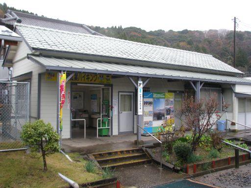 JR久留里線 上総亀山駅 駅舎(ホーム側)