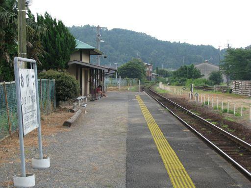 JR久留里線 小櫃駅 ホーム全景