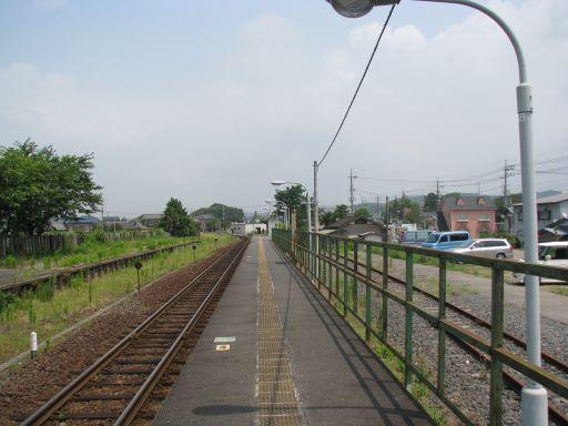 JR久留里線 馬来田駅 ホーム全景