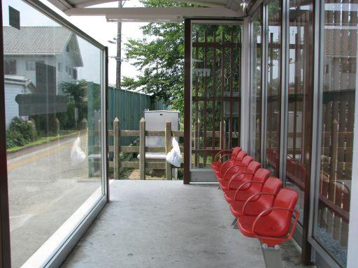 JR久留里線 東横田駅 椅子