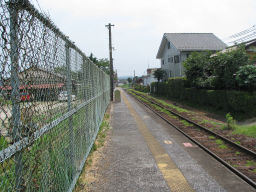 JR久留里線 東横田駅 ホーム全景