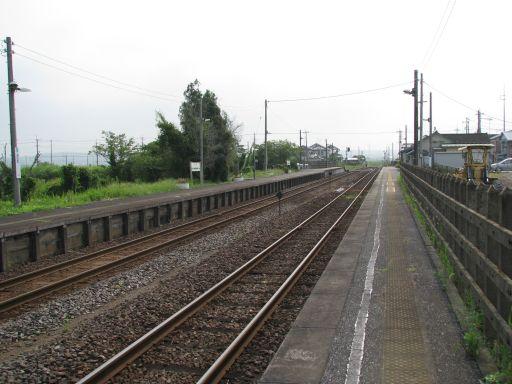 JR久留里線 横田駅 ホーム全景