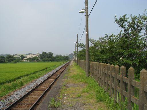 JR久留里線 東清川駅 ホーム全景