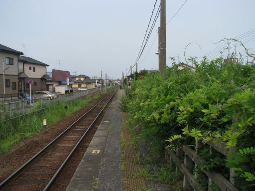 JR久留里線 上総清川駅 ホーム全景