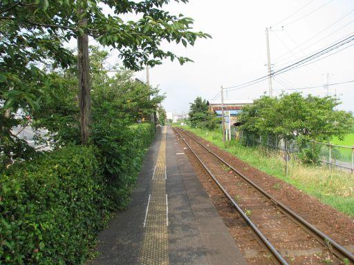 JR久留里線 祗園駅 ホーム全景