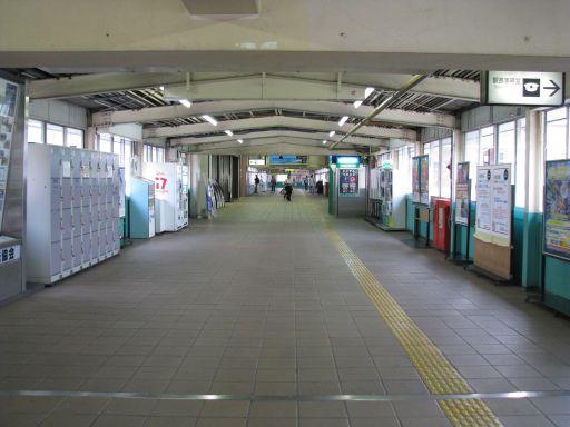 JR内房線 木更津駅 改札外通路