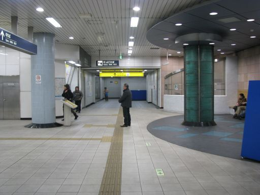 首都圏新都市鉄道つくばエクスプレス 青井駅 改札外