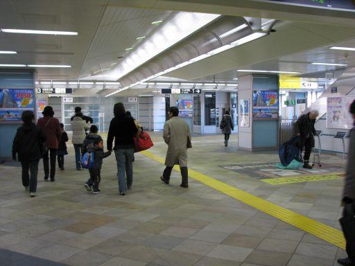 首都圏新都市鉄道つくばエクスプレス 守谷駅 改札内