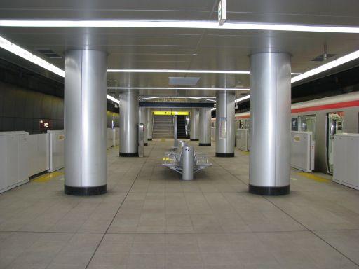 首都圏新都市鉄道つくばエクスプレス つくば駅 ホーム全景