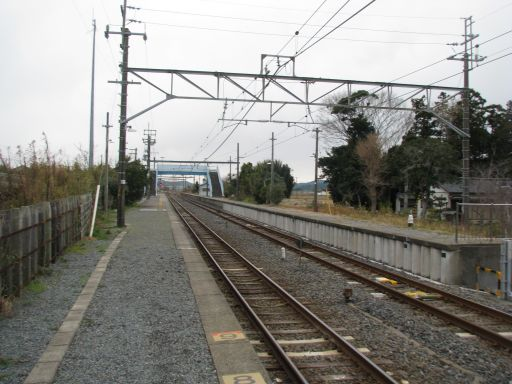 JR内房線 南三原駅 ホーム全景