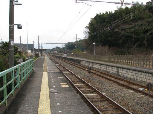 JR内房線 九重駅 ホーム全景