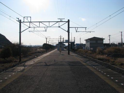 JR内房線 那古船形駅 ホーム全景