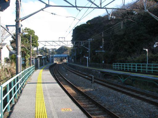 JR内房線 竹岡駅 ホーム全景