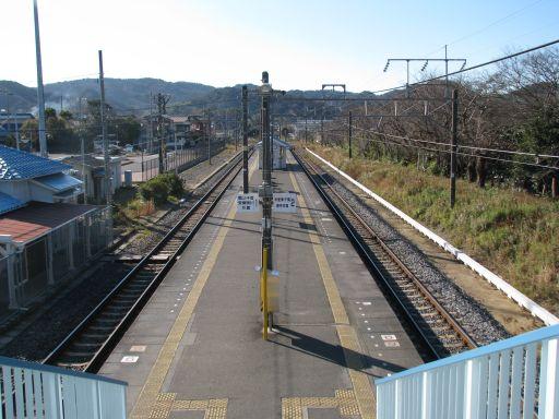 JR内房線 上総湊駅 ホーム全景