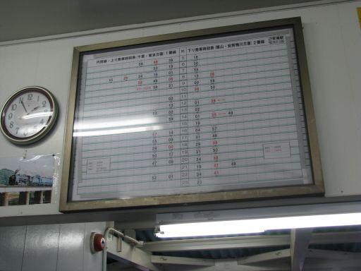 JR内房線 青堀駅 時刻表