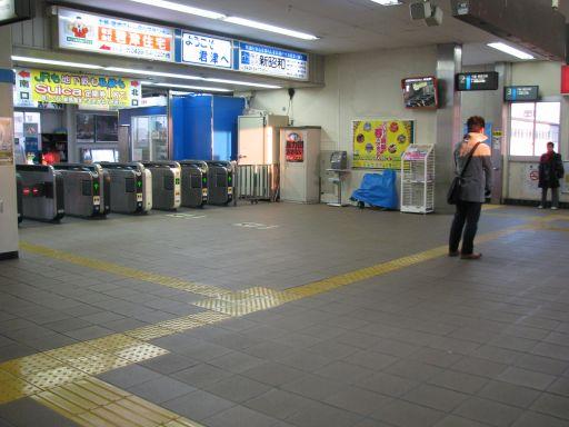 JR内房線 君津駅 改札内