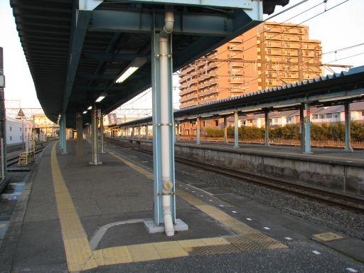 JR内房線 君津駅 ホーム全景